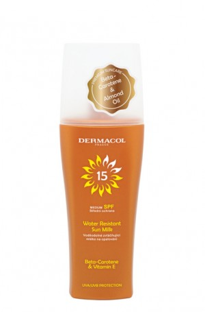 Water Resistant Moisturizing Sun Milk SPF 15 Spray