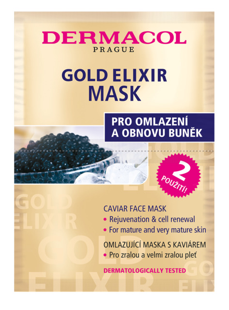 Gold Elixir Face Mask